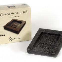 Černý talířek GAMILA SECRET