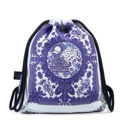 Dívčí školní batoh NEW FOLK DENIM TOUCH