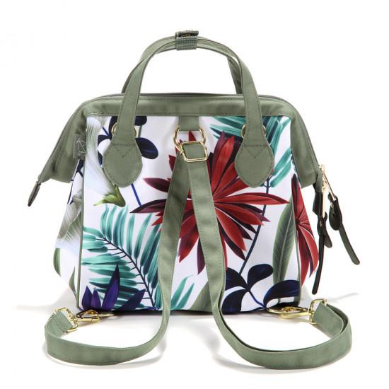 Dívčí školní batoh DOLCE VITA BOTANIC GARDEN BRIGHT