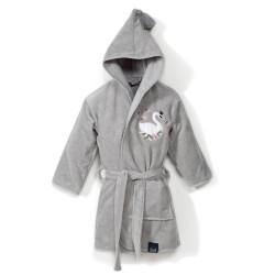 Dětský župan MOONLIGHT SWAN šedý