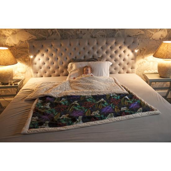 Ultra měkká deka MOONLIGHT SWAN růžová 140x200 cm