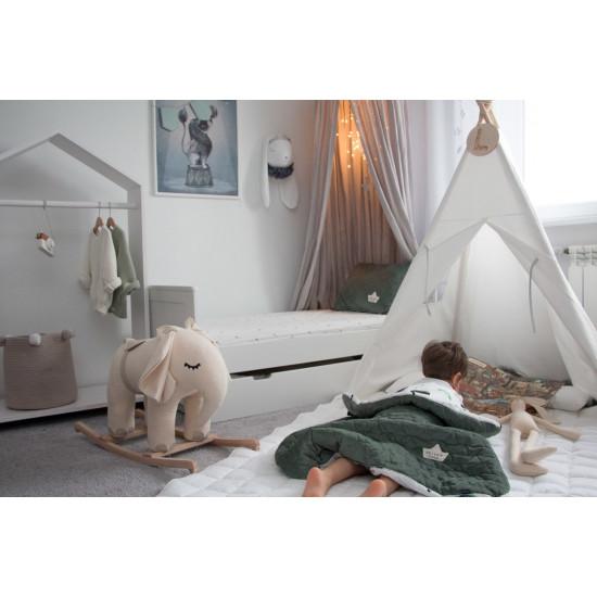 Dětská hrací deka #ILOVEPANDA PURE MINT 110x140 cm