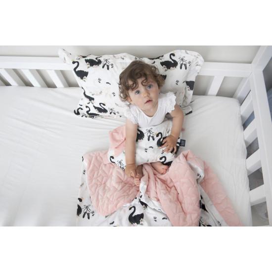 Dětská hrací deka COLIBRI AUDREY MINT 110x140 cm