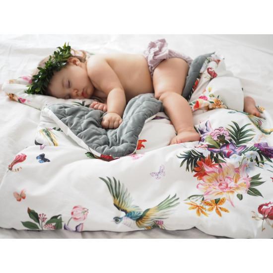 Dětská hrací deka PARADISE KHAKI 110x140 cm