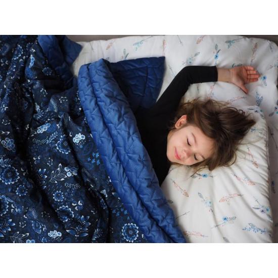 Ultra měkká deka PARADISE hnědožlutá 140x200 cm